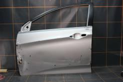 Hyundai Solaris (2010-17гг) - Дверь передняя левая