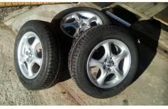 "Зимняя резина Continental 195/65 R15 на литых дисках Toyota Carina GT. 6.0x15"" 5x100.00 ET-45 ЦО 54,1мм."