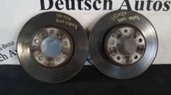 Диск тормозной. BMW 5-Series, E60, E61 Двигатели: M54B22, M54B25, M54B30