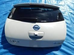 Дверь багажника. Nissan Leaf, ZE0, AZE0 Двигатели: EM57, EM61