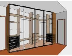 Шкафы купе, гардеробы, встроенная мебель.