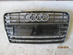 Решетка радиатора. Audi A7, 4GA Двигатели: AKE, CAHA, CAHB, CALB, CCWA, CCWB, CDNC, CDUC, CDUD, CEUC, CGQB, CGWB, CGWD, CGXB, CHMA, CHVA, CKVB, CKVC...