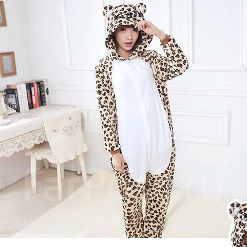 Кигуруми пижама Леопард - Детская одежда во Владивостоке 51f45abf983ab