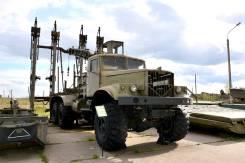 Краз 255. Сваебой УСБ-2, КрАЗ-255, 10 000куб. см.