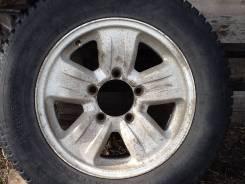 "Продам комплект колес на литых дисках на Сузуки Эскудо Витара УАЗ Нива. 6.0x16"" 5x139.70 ET25 ЦО 108,0мм. Под заказ"