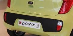 Накладка на бампер. Kia Picanto