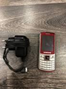 Samsung. Б/у, до 8 Гб, Красный, Кнопочный