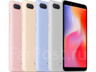 Xiaomi Redmi 6. Новый, 32 Гб, Синий, Черный, 3G, 4G LTE, Dual-SIM