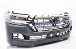 Бампер. Toyota Land Cruiser, GRJ200, URJ200, URJ202, URJ202W, VDJ200 Двигатели: 1GRFE, 1URFE, 1VDFTV, 3URFE