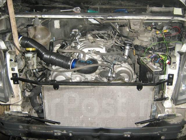 Установка двигателей 1uz, 5vz, 3uz на Mercedes sprinter, crafter