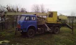 Ивановец КС-3577. Автокран МАЗ на запчасти, 10 850куб. см., 12 500кг., 14,00м.