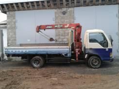 Isuzu Elf. Продаётся грузовик с манипулятором , 4 600куб. см., 3 000кг., 4x2