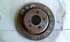 Диск тормозной. BMW 5-Series, E39 Двигатели: REAR, M47D20, M51D25, M51D25TU, M52B20, M52B25, M52B28, M54B22, M54B25, M54B30, M57D25, M57D30, M62B35, M...