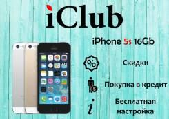 Apple iPhone 5s. Новый, 16 Гб, Серый, 3G