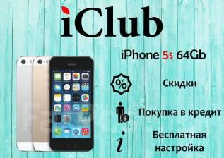 Apple iPhone 5s. Новый, 64 Гб, Золотой, Серебристый, Черный, 4G LTE