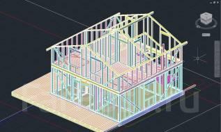 Индивидуальный проект Вашего загородного дома от реалистов