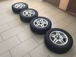 "Колеса Ford Focus (диски+шины) 4 шт - комплект. 5.5x14"" 4x108.00 ET35 ЦО 70,0мм."