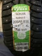 Nokian Nordman 5. Зимние, шипованные, 2018 год, без износа, 4 шт