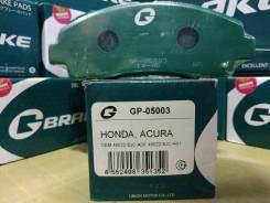 Колодки тормозные. Honda Accord Honda CR-V Honda Accord Tourer Двигатели: K24Z3, N22B1, N22B2, R20A3, K20A4, K20A5, K24A1