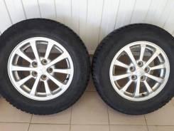 "Продам комплект колес 215/65/R-16 от Мицубиси. 6.5x16"" 5x114.30 ET46 ЦО 67,0мм."