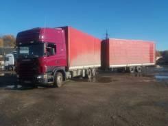 Scania R124. Продается Scania 124 паровоз 120 куб. м., 11 704куб. см., 22 000кг., 6x2
