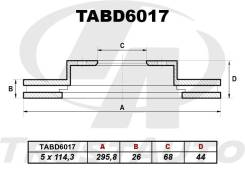 Диск Тормозной Nissan Dualis J10, X-Trail T31