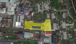 Большая производственно-складская база на Океанской (Фанзавод 1). 6 480кв.м., собственность, аренда, электричество, вода. План (чертёж, схема) участ...