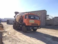 КамАЗ бетоносмеситель 65111