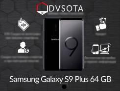Samsung Galaxy S9+. Новый, 64 Гб, Черный, 4G LTE, Dual-SIM