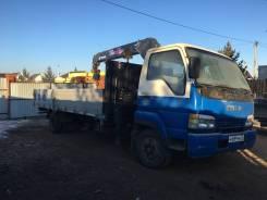 Isuzu NRR. Продам грузовик-воровайку. 5000кг. Стрела 3 тонны., 8 200куб. см., 5 000кг., 4x2