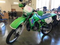 Kawasaki KDX 125SR. 125куб. см., исправен, птс, без пробега