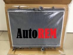 Радиатор охлаждения двигателя. Citroen C4, LA, LC Peugeot 206, 2A/C, 2D, 2E/K Двигатели: EW10A, EW10J4, EW10J4S, TU5JP4, DV4TD, DW10TD, TU1JP, TU3A, T...