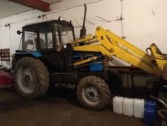 МТЗ 82. Трактор МТЗ-82 2005 г. с куном погрузчик, 80 л.с.
