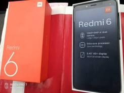 Xiaomi Redmi 6. Новый, 64 Гб, Черный, 4G LTE, Dual-SIM