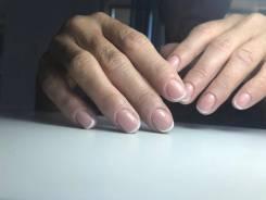 Маникюр, выравнивание ногтевой пластины, покрытие гель-лаком, дизайн