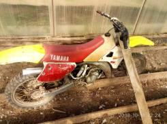 Yamaha YZ 125. 125куб. см., исправен, без птс, с пробегом