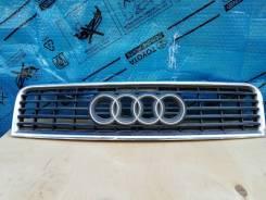 Решетка радиатора. Audi A4, 8E2, 8E5 Audi S4, 8E2, 8E5 Двигатели: AKE, ALT, ALZ, AMB, AMM, ASN, AVB, AVF, AVJ, AVK, AWA, AWX, AYM, BAU, BBJ, BBK, BCZ...