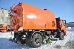 Кургандормаш КО-318. Подметально-уборочная машина Д (две всасывающие ша, 10 000куб. см.