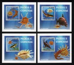 Сан Томе и Принсипе 2009 чистые, морская фауна