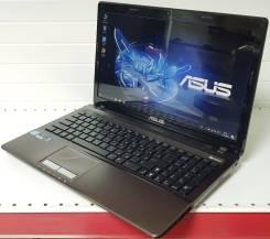"Asus K53SD. 15.6"", 2,2ГГц, ОЗУ 8 Гб, диск 500Гб, WiFi, аккумулятор на 2ч."