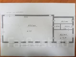 Помещение под фитнес зал или небольшое производство. 400кв.м., улица Капитана Шефнера 2а, р-н Центр. План помещения