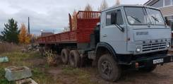КамАЗ 5410. Продается Камаз-5410 с прицепом ОДАЗ, 1991 года выпуска. Двигатель ЯМЗ, 14 000кг.