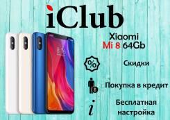 Xiaomi Mi8. Новый, 64 Гб, 4G LTE, Dual-SIM, NFC