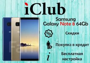 Samsung Galaxy Note 8. Новый, 64 Гб