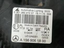 Линза фары. Mercedes-Benz GLA-Class, X156 Двигатели: M133E20, M270E16, M270E20, M651D22, OM607
