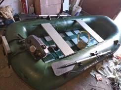 Barg Fortune. длина 2,90м., двигатель подвесной, 3,50л.с., бензин