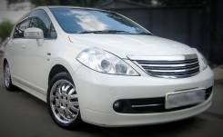 Бампер передний Axis (в сборе + капо! ) Nissan Tiida, Tiida Latio