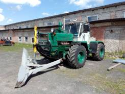 ХТЗ Т-150. Трактор Т-150 с отвалом, 180 л.с.