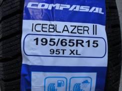 Compasal Ice Blazer II. Зимние, без шипов, 2017 год, без износа, 4 шт