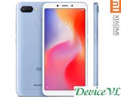 Xiaomi Redmi 6. Новый, 32 Гб, Синий, 3G, 4G LTE, Dual-SIM